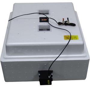 Бытовой инкубатор «Несушка» на 104 яйца, автоматический переворот, цифровой терморегулятор, 12В, измеритель влажности с вентиляторами