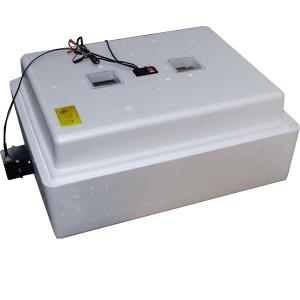 Бытовой инкубатор «Несушка» на 104 яица, автоматический переворот, аналоговый терморегулятор, с цифровой индикацией, 12В