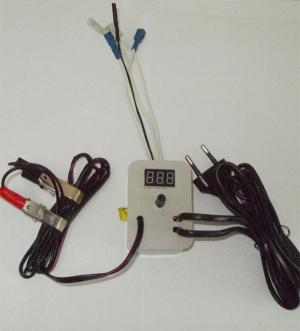 Терморегулятор для инкубатора аналоговый с индикатором с 12В